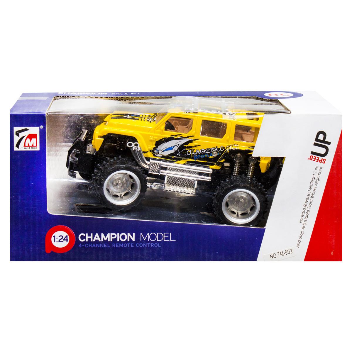 """Машинка на радиоуправлении """"JEEP Wrangler (желтая) 7M-902"""