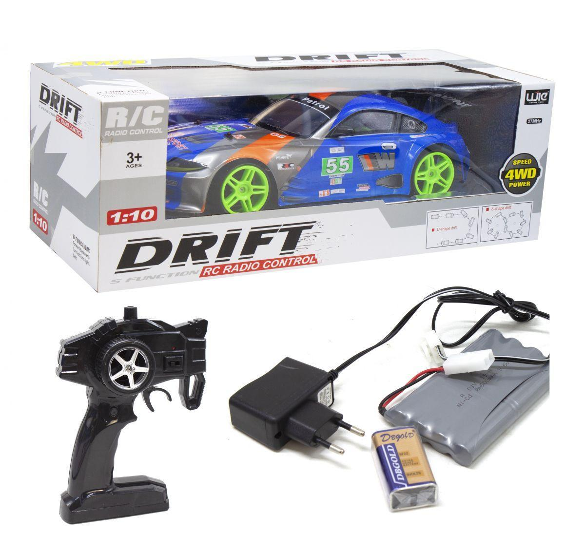 """Машинка на радиоуправлении """"BMW Z4 Drift Car"""", большая (синяя) UJ 99-242"""