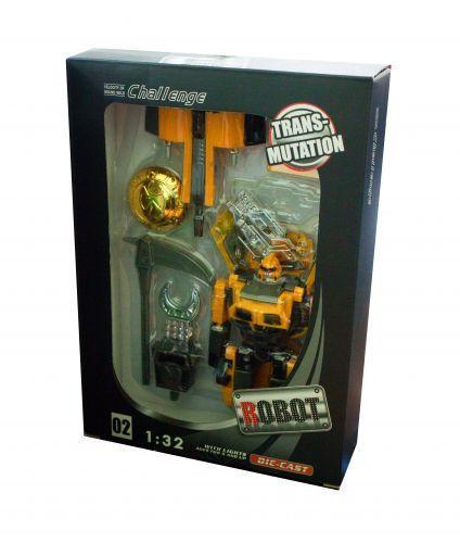 Трансформер-машина (желтый) 1101D