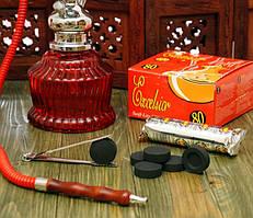 9010191 Уголь для кальяна Excelsior 80 таблеток