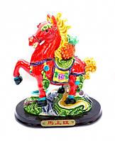 9260314 Лошадь полистоун пёстрый G
