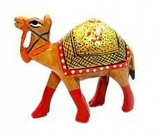 """9160102 Верблюд деревянный стиль """"хохлома"""" кедр С5633-2,5"""""""