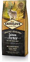 Adult Large Breed Salmon & Turkey (д/взрослых собак крупных пород)(Карнилав) Carnilove (1,5 kg)