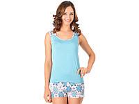Пижама НатаЛюкс женская S Голубой