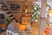 Мальчику, взрослому DIY miniature House интерьерный 3D-конструктор LEGEND OF SEA + LED подсветка, фото 3