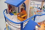 Мальчику, взрослому DIY miniature House интерьерный 3D-конструктор LEGEND OF SEA + LED подсветка, фото 5
