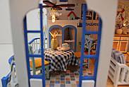 Мальчику, взрослому DIY miniature House интерьерный 3D-конструктор LEGEND OF SEA + LED подсветка, фото 6