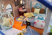 Мальчику, взрослому DIY miniature House интерьерный 3D-конструктор LEGEND OF SEA + LED подсветка, фото 7