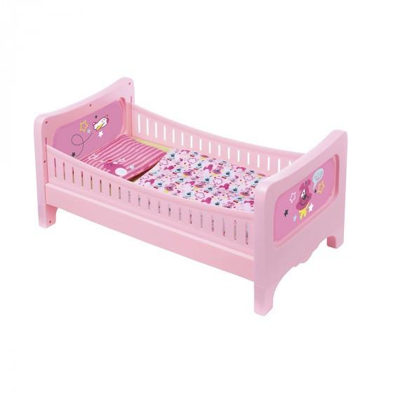Кроватка для куклы BABY BORN - СЛАДКИЕ СНЫ (с постельным набором) 824399
