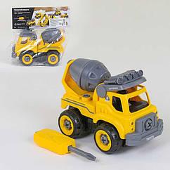 Детский конструктор с отверткой Play Smart (1354) 28 деталей