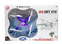 """Квадрокоптер на радиоуправлении """"Sky Eye"""" (синий) W8G"""