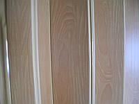 Дверь гармошка глухая,вишня 501,глянцевая,81см