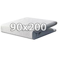 Непромокаемый махровый наматрасник с бортами - 90х200, фото 1