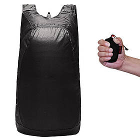 Рюкзак складывающийся Чёрный (pk05-bl)