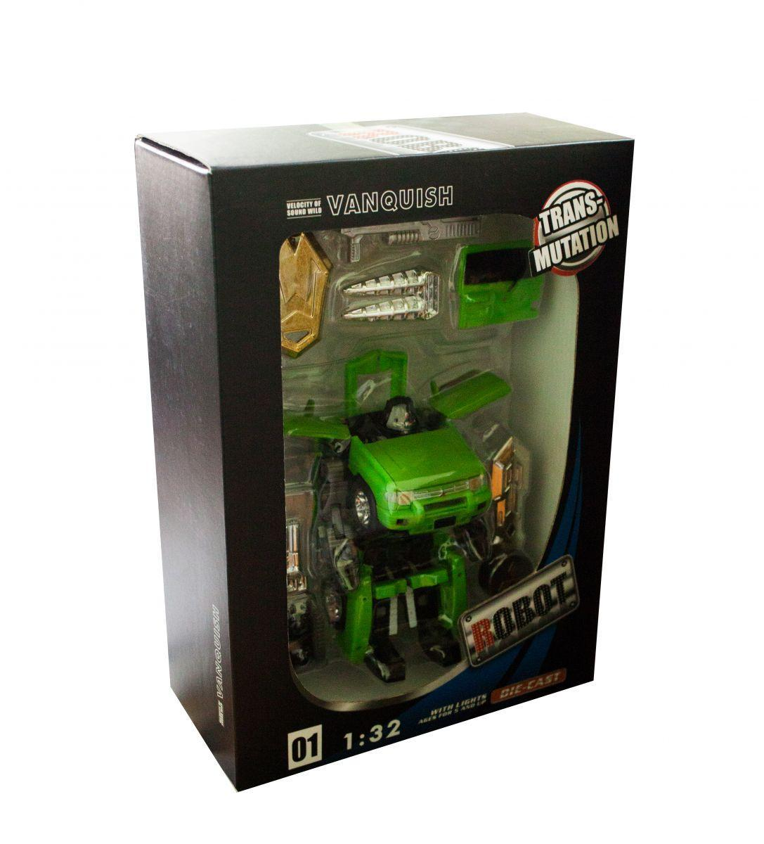 Трансформер-машина (зеленый) 1101C