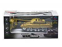 "Танк на р/у ""Battle Tank"" (бежевый) 369-3"