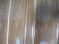 Дверь гармошка глухая черное дерево 685,81см