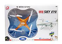 """Квадрокоптер на радиоуправлении """"Sky Eye"""" (оранжевый) W8G"""
