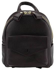 Маленький женский рюкзак Valenta Темно-бордовый (ВЕ-6194)