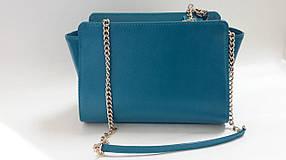 Женская сумка Valenta Бирюзовая (С-6154)