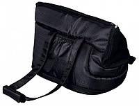 Сумка-переноска RIVA черная для собак и кошек Trixie