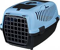Переноска для собак и кошек Capri синяя Trixie (37х34х55 см до 8 кг)