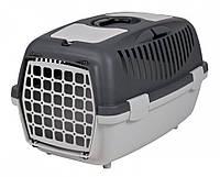 Переноска для собак и кошек Capri серая Trixie (40х38х61 см до 12 кг)