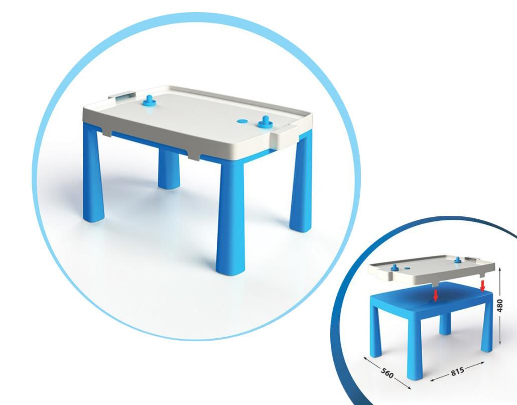 Стол детский+комплект для игры (Синий) 04580/1