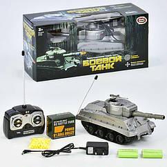 Детский игрушечный танк Play Smart серый (9343) на радиоуправлении