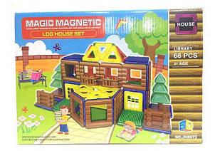 Детский магнитный конструктор Библиотека (JH 8873) 66 элемент