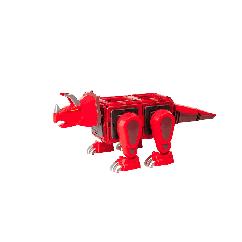 Детский магнитный конструктор Динозавр (LQ 623) свет, звук