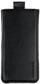 Чехол-карман Valenta для телефона Nokia 130 Черный (С-564/N130)
