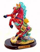 9260314 Лошадь полистоун пёстрый D