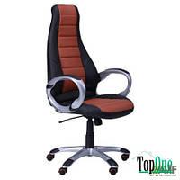 Кресло AMF Форс (CX 0678 Y10) Черный/вставка Коричневый 511132