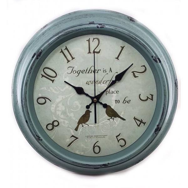 Часы настенные d-39 см h-5 смD 32020D