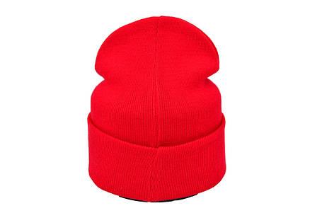 Шапка Flexfit Adidas 53-57 см Красная (F-09118-55), фото 2