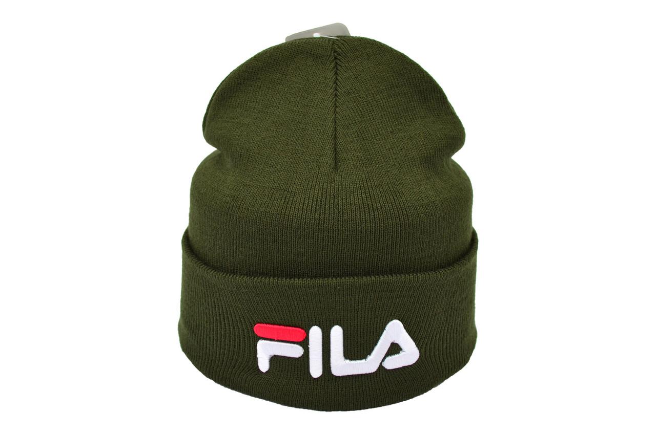 Шапка Flexfit Fila 53-57 см Хакки (F-09118-72)