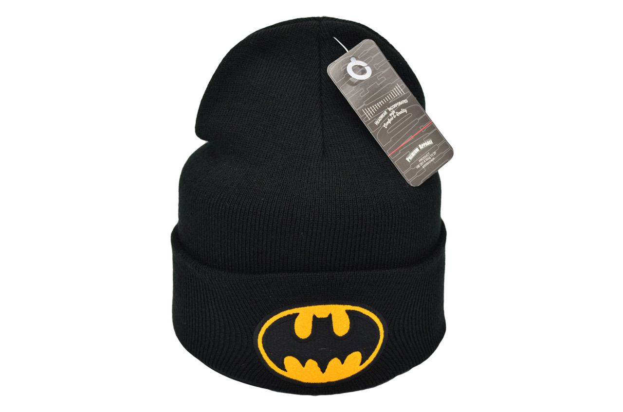 Шапка Flexfit Batman 53-57 см Чёрная (F-09118-111)