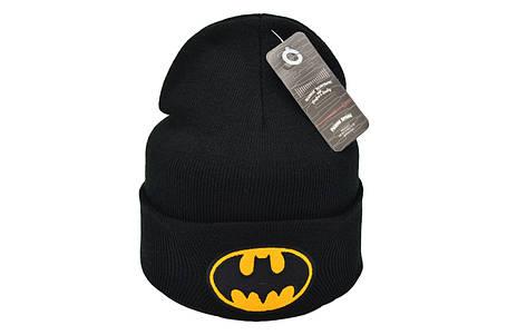 Шапка Flexfit Batman 53-57 см Чёрная (F-09118-111), фото 2