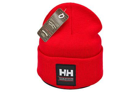 Шапка Flexfit Helly Hansen 53-57 см Красная (F-09118-113), фото 2