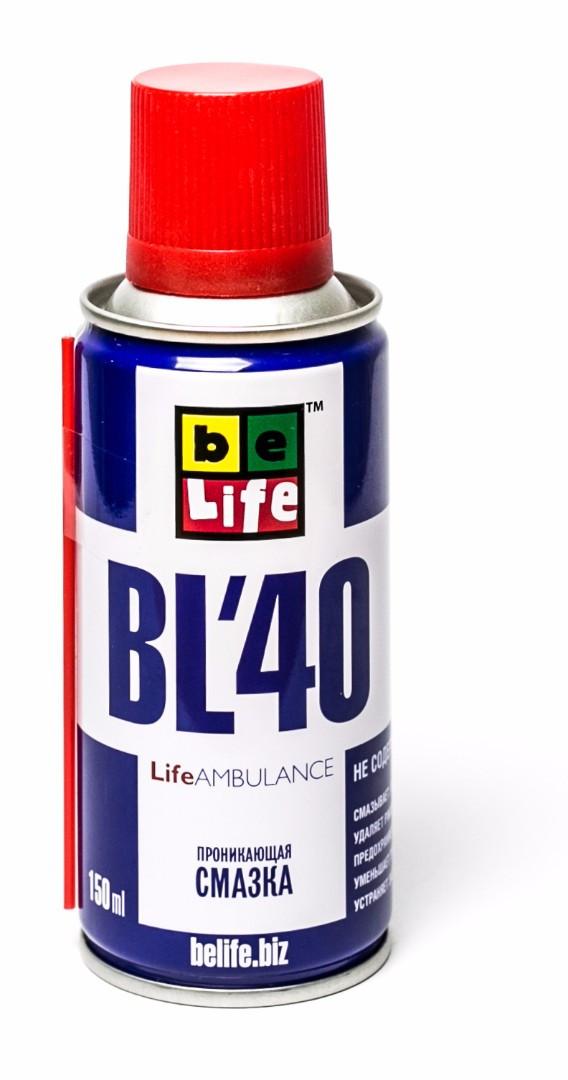 Универсальная проникающая смазка BL-40 (жидкий ключ)