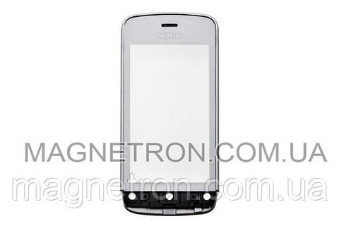 Сенсорный экран с передним корпусом для телефона Nokia C5-03/06