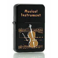 """Зажигалка бензиновая """"Music instrument"""" 23615 23615"""