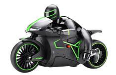 Мотоцикл р/у 1:12 Crazon 333-MT01 (зеленый) CZ-333-MT01Bg