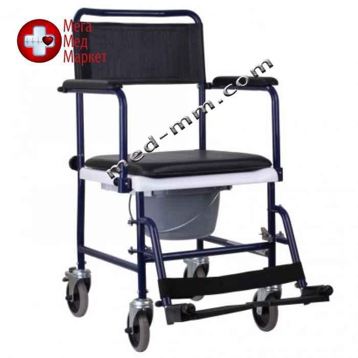 Кресло-каталка с санитарным оснащением MOD JBS