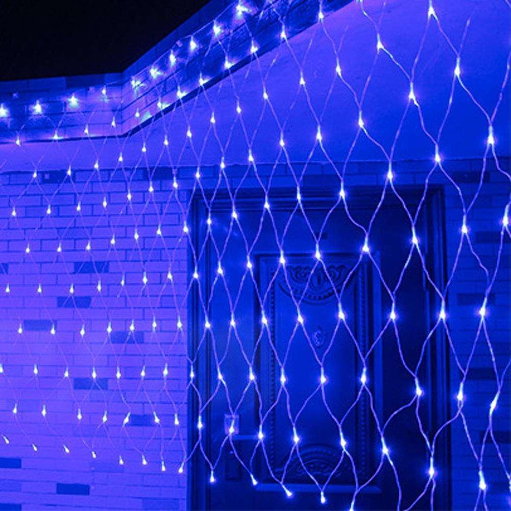 Гирлянда Сетка, 240 led, Синяя, 3,5х0,8м.