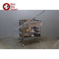 Медицинский столик с ящиком и тремя полками