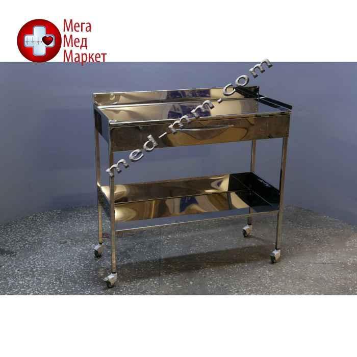 Cтолик с ящиком из нержавеющей стали 1000мм (1метр)