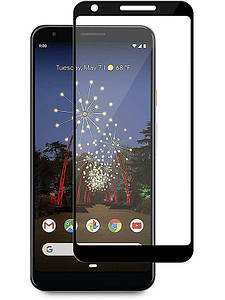 Защитное стекло Full screen PowerPlant для Google Pixel 3a, Black