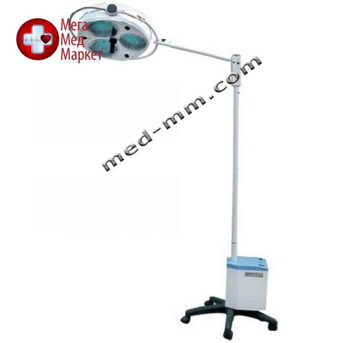 Светильник операционный L2000-3E, трехрефлекторный передвижной (аварийное питание)